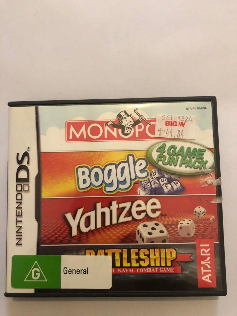 Monopoly plus 3 others