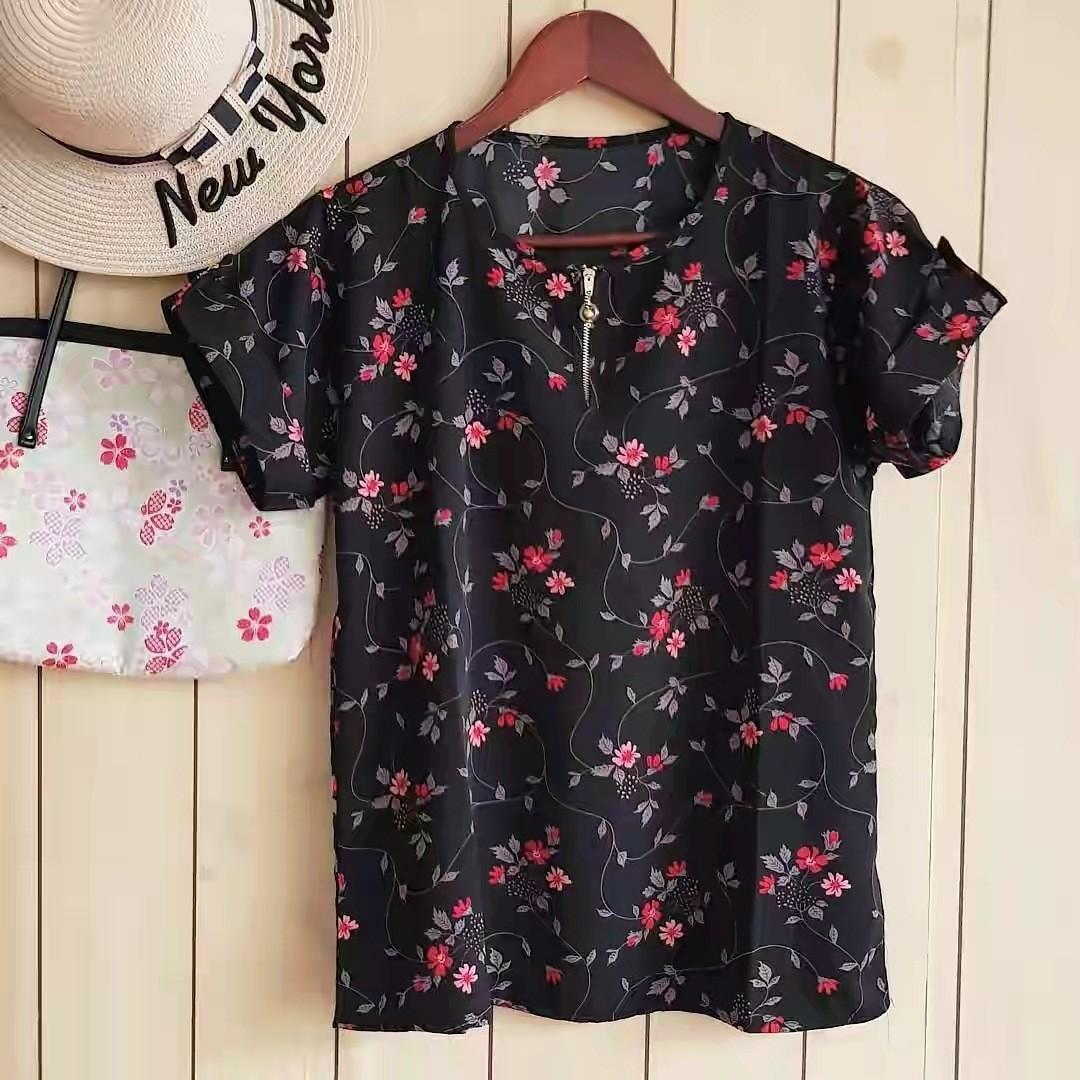 New arrivals. New motif The florist zipper top