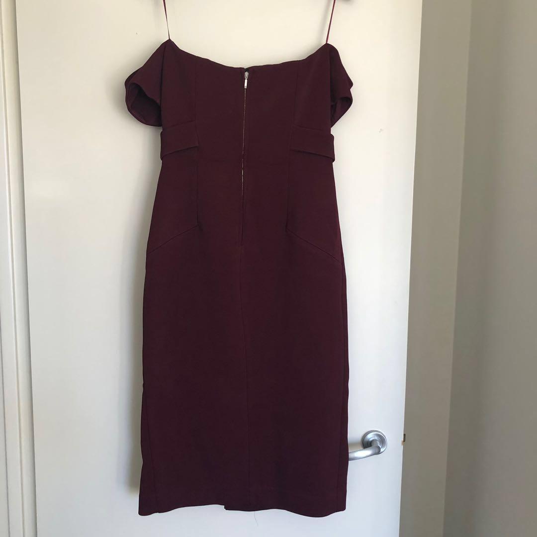 Nicholas BNWT Deep Plunge Bandage / Cocktail Dress Size 10 RRP $650