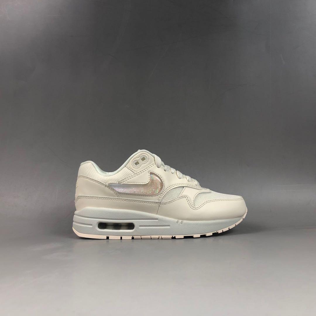 Nike Air MAx 1 JP Pale Ivory Plum Chalk, Women's Fashion