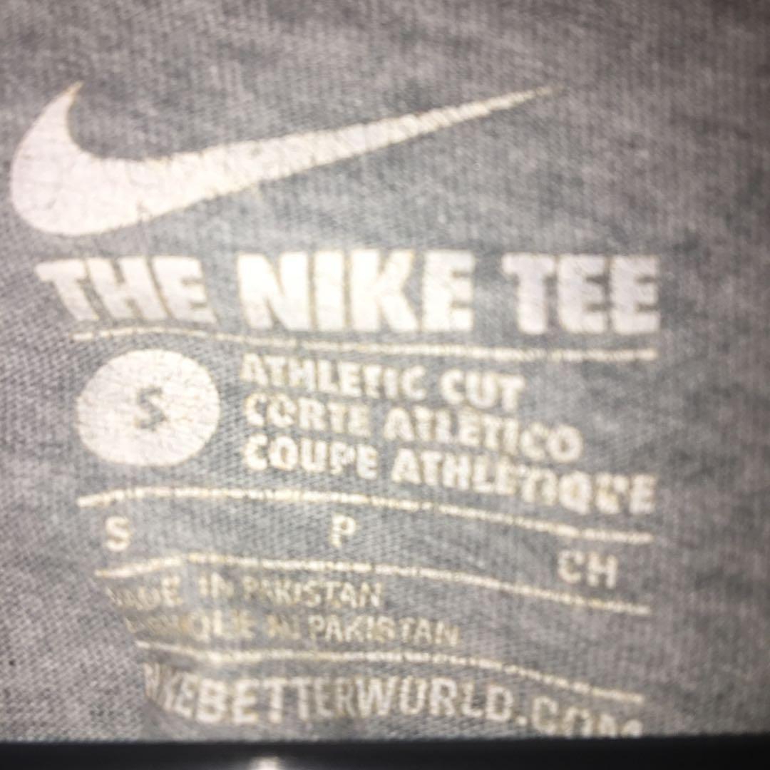 Nike Just Do It Grey Cut Crop Tee