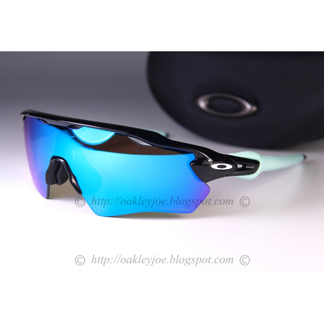 9adbe3e5e218 Oakley Custom Radar EV XS polished black + prizm sapphire sunglass shades  youth fit, Men's Fashion, Accessories, Eyewear & Sunglasses on Carousell