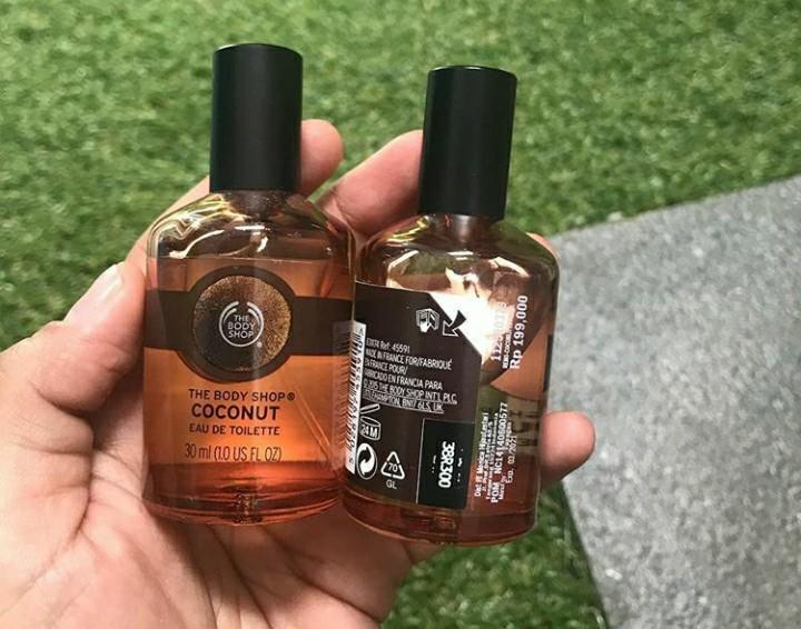 Parfum the body shop coconut