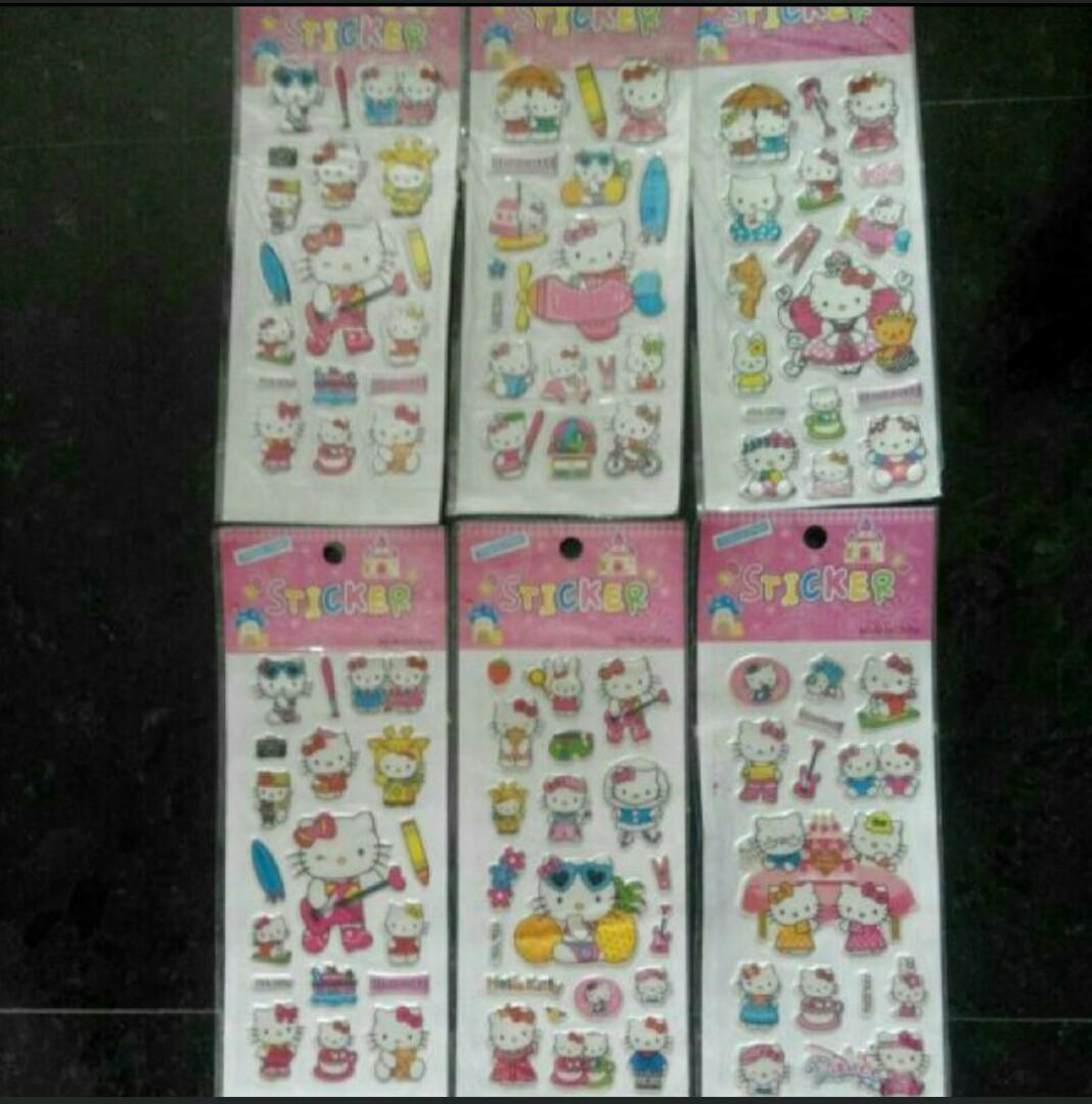 Free Hello Kitty Stickers