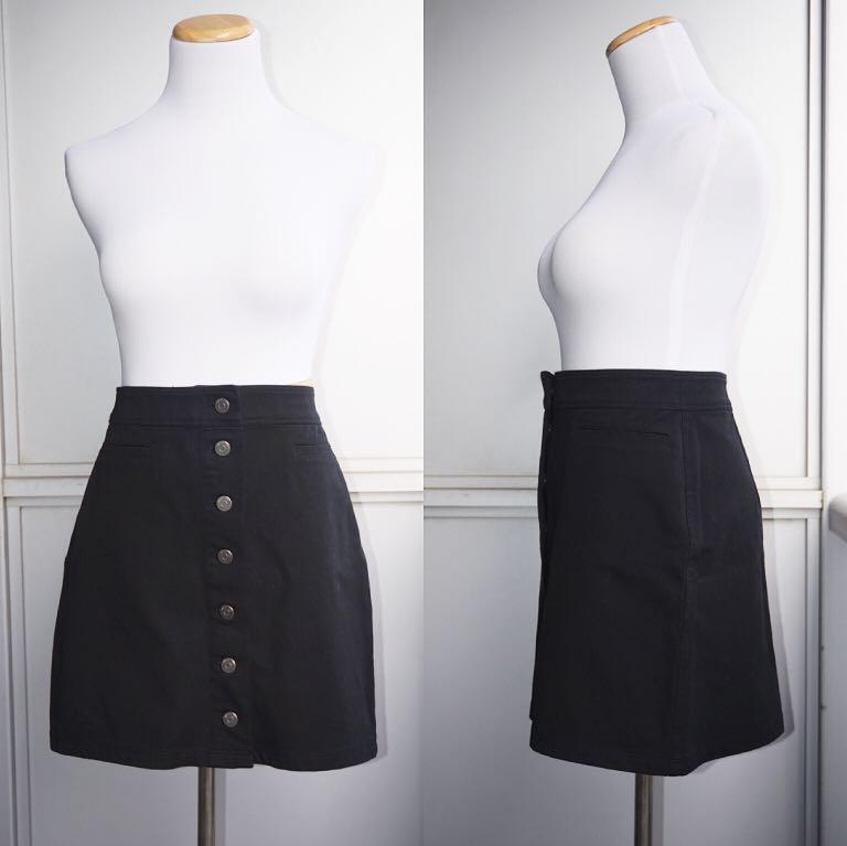 *Perfect Condition* Wilfred Free Karmen Skirt in Black Women Size 8