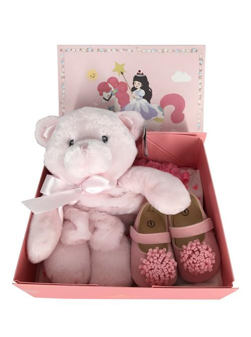 Pink Teddy Baby Shower Gift Set  🐻💗