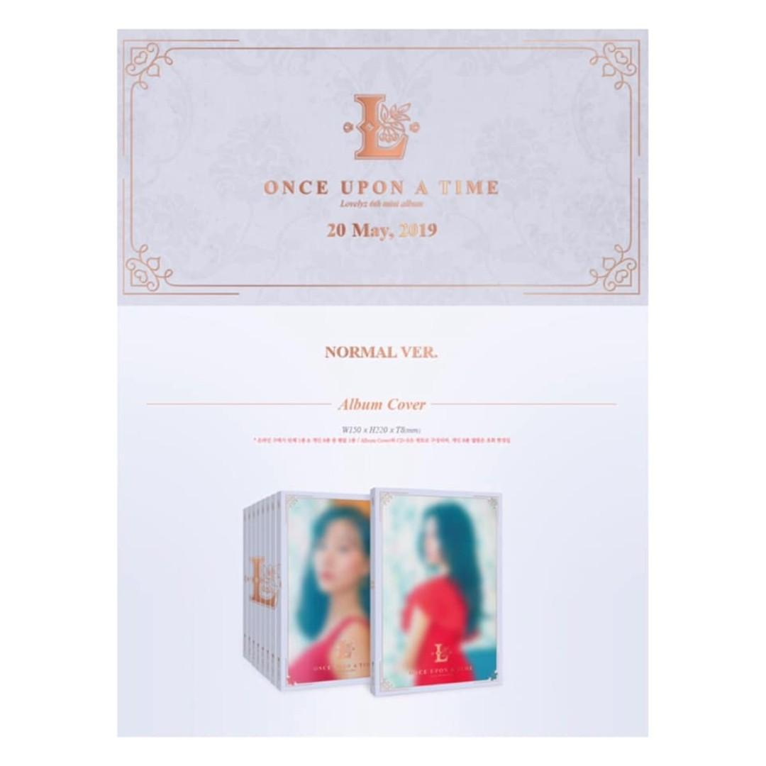 [Pre-order] LOVELYZ 러블리즈 (6TH MINI ALBUM 미니앨범) - ONCE UPON A TIME (NORMAL ver.)