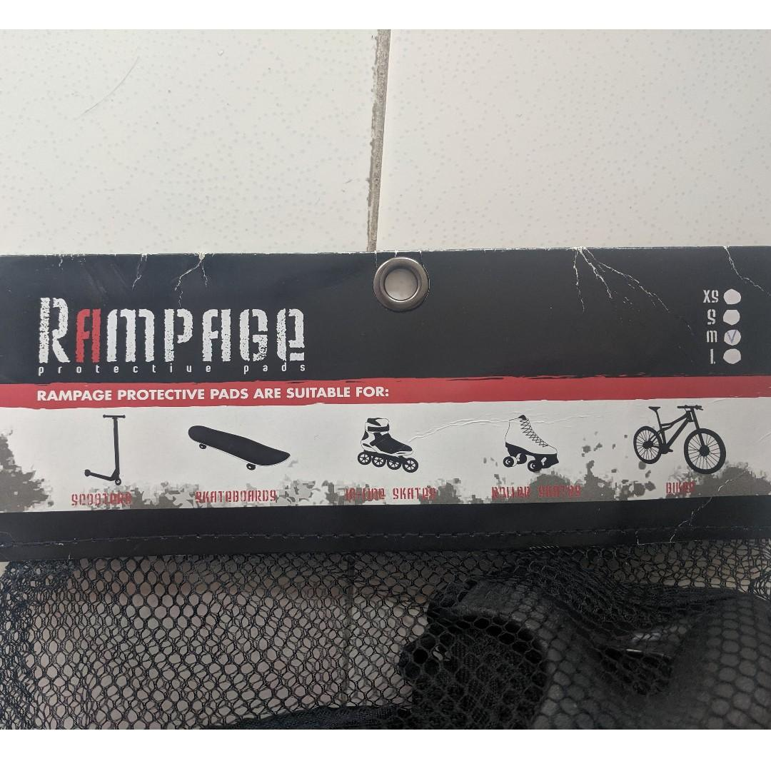 Rampage Protection Pad Set for Knees Elbows Wrists