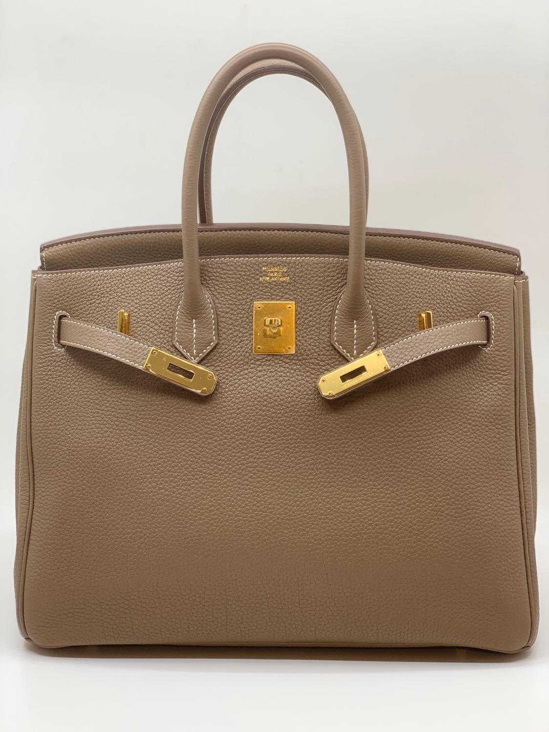 954752a9e368 RARE at Bargain Price. Hermes Birkin 35 Etoupe GHW, Luxury, Bags ...