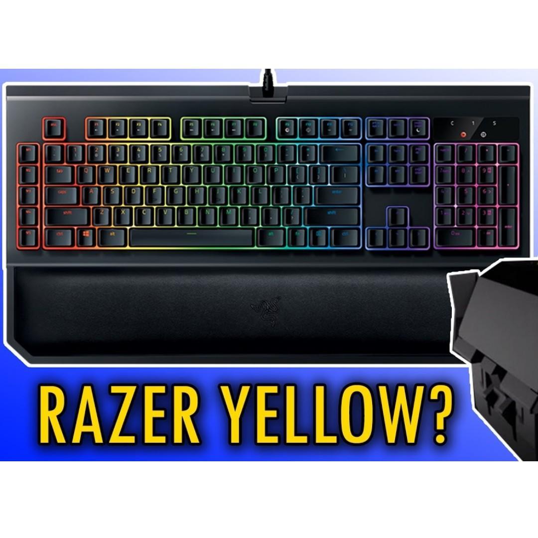 Razer BlackWidow Chroma V2 - Yellow Switches [PERFECT CONDITION]
