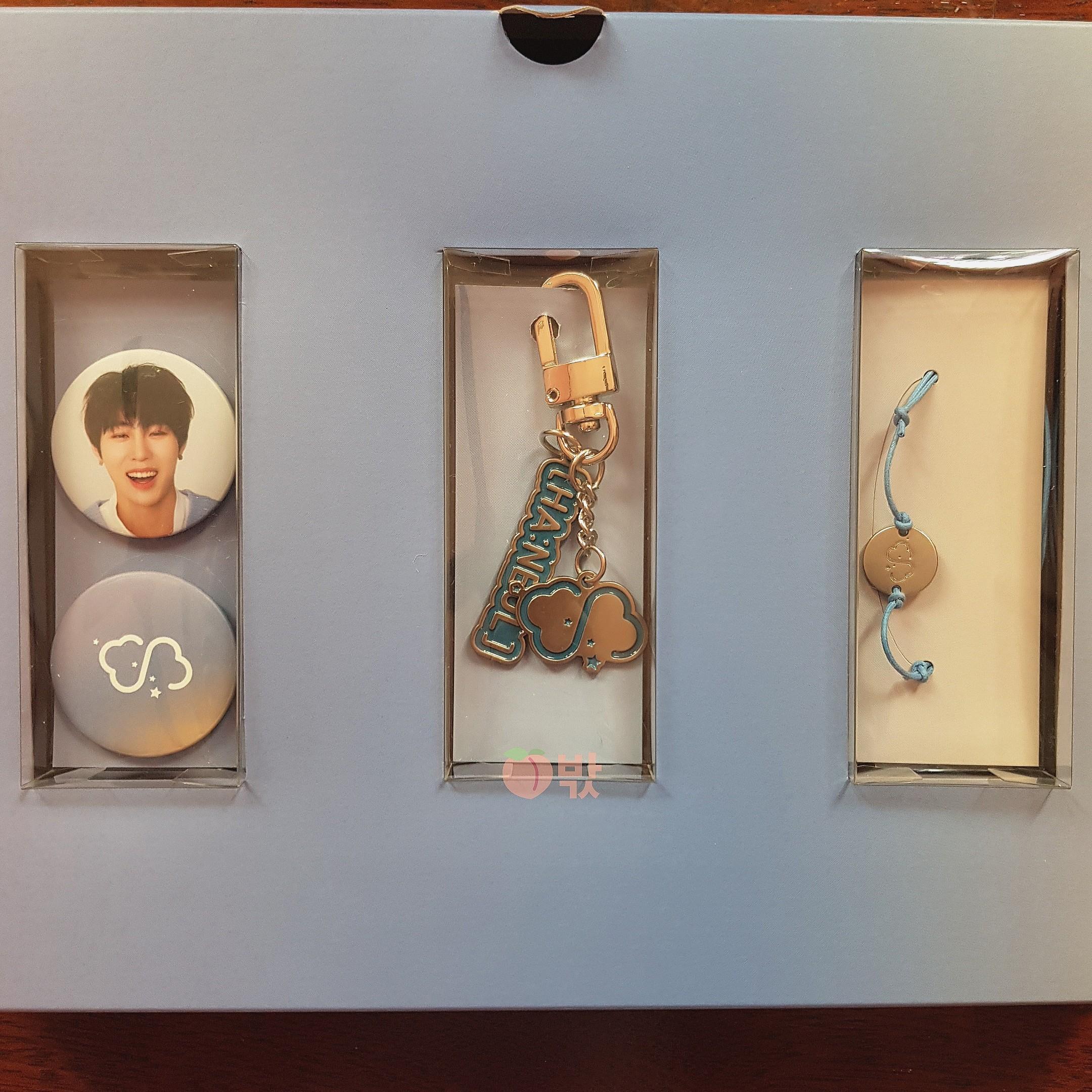 [Ready Stock] Ha Sungwoon 1st Official Fanclub [HA:NEUL] Membership Gift Box