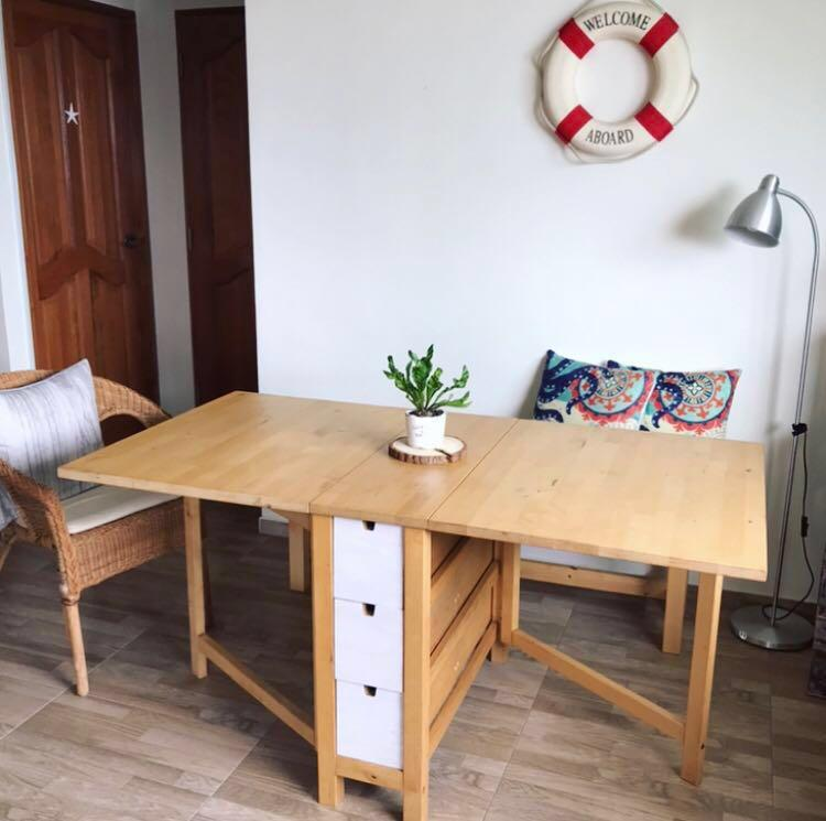 Sale Ikea Norden Gateleg Table Furniture Tables Chairs On Carousell