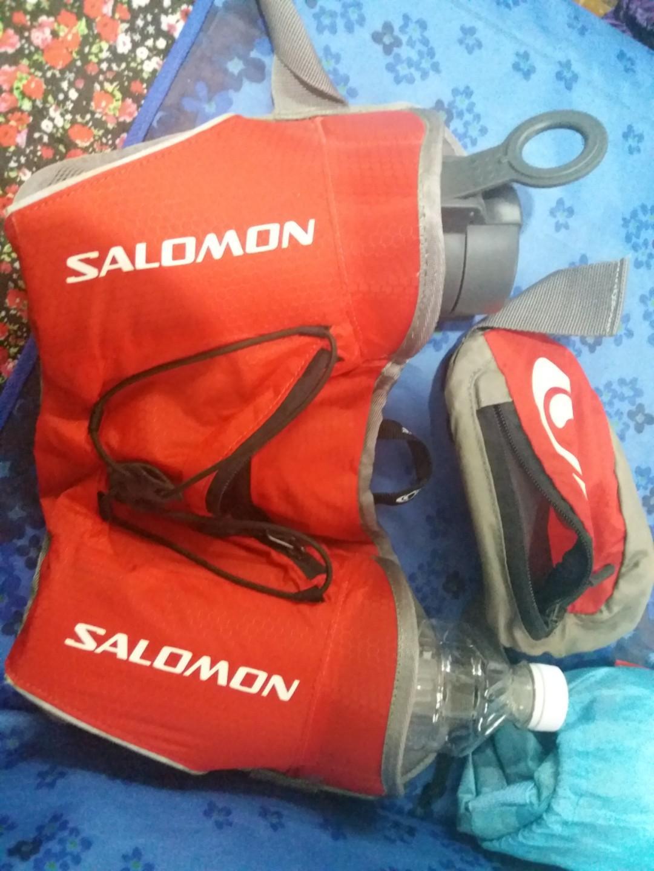 Salomon雙水樽行山腰包