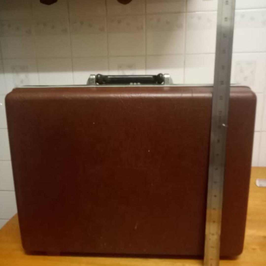 Samsonite classic 1987 bag with leather kulit (Carrying case)