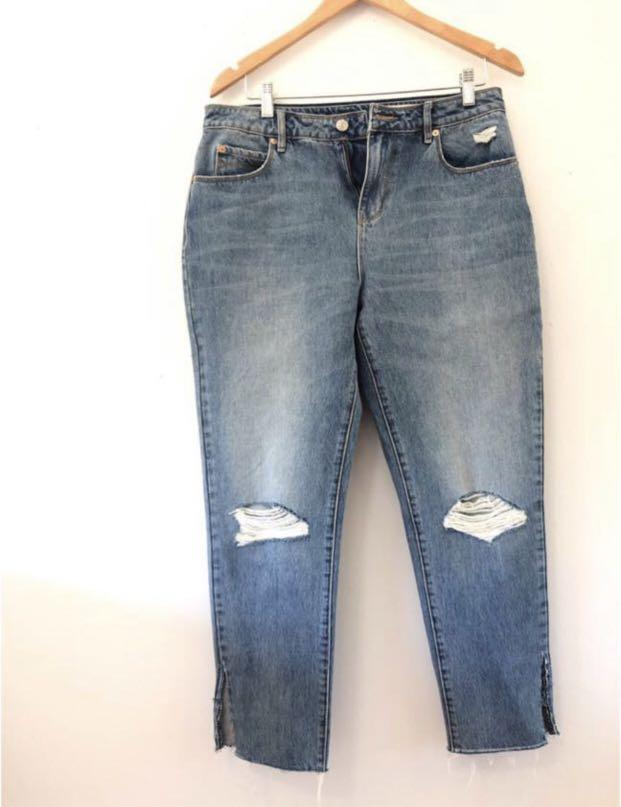Sass and Bide ripped jeans