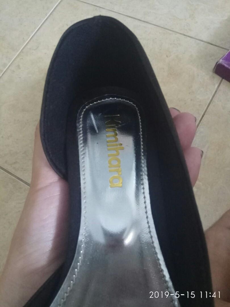 Sepatu kitten heels point shoes