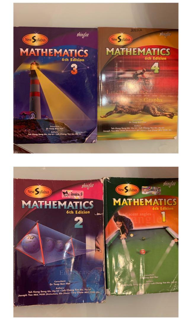 shinglee mathematics 6th edition 1 , 2 , 3