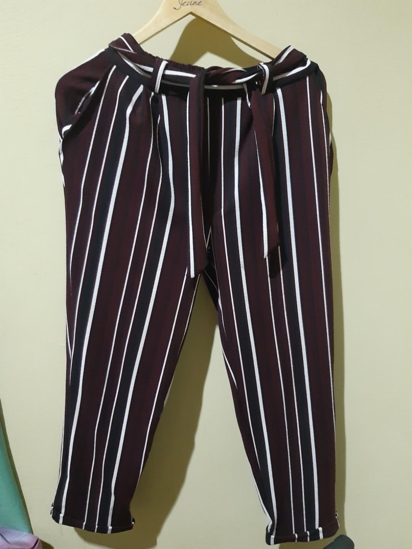 Stripe Pants cullote