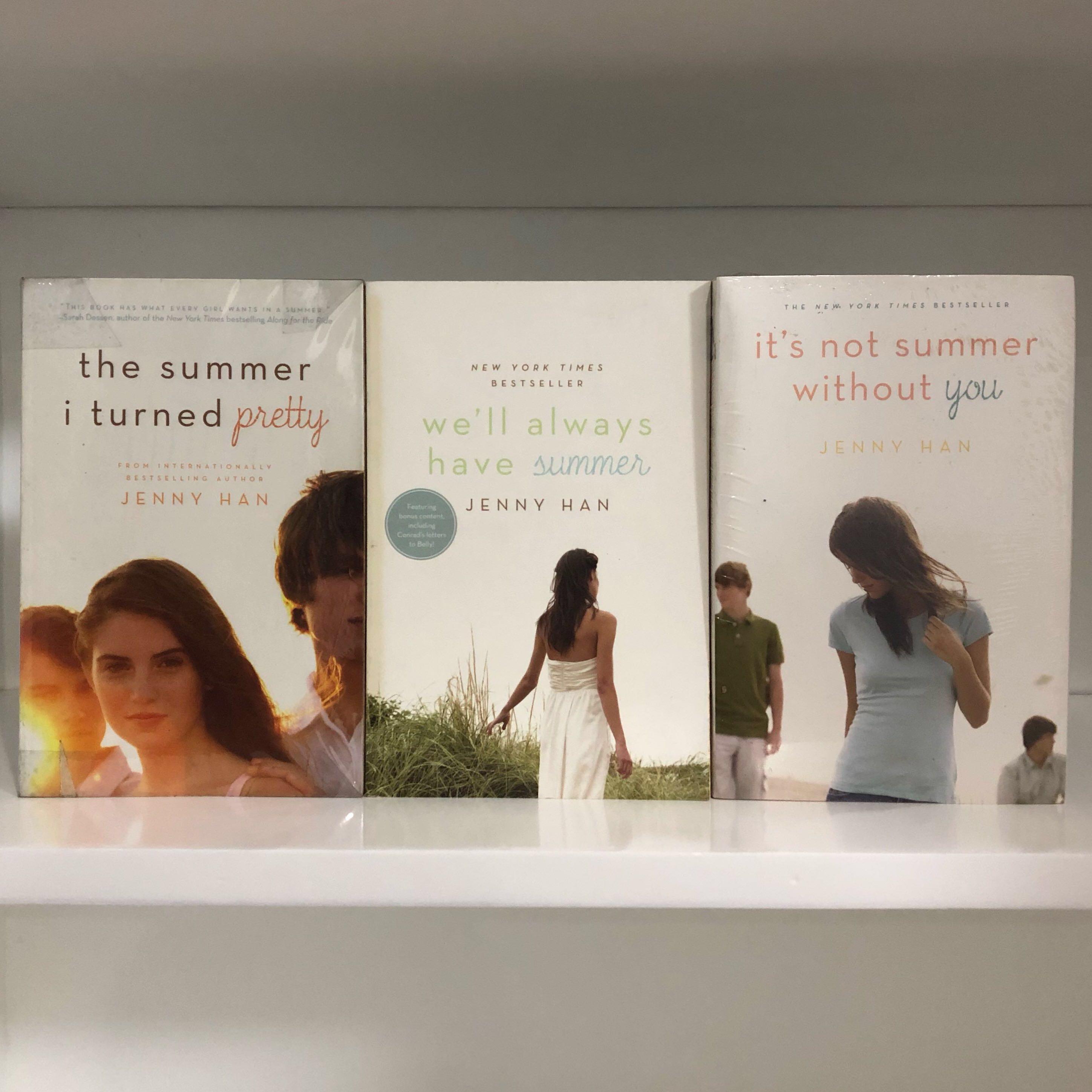 Summer I Turned Pretty TRILOGY by Jenny Han on Carousell