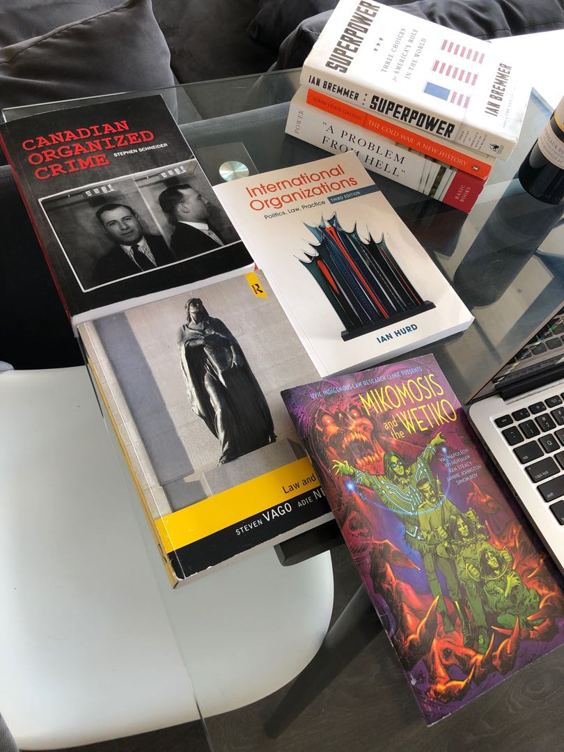 textbooks u of t political science and criminology