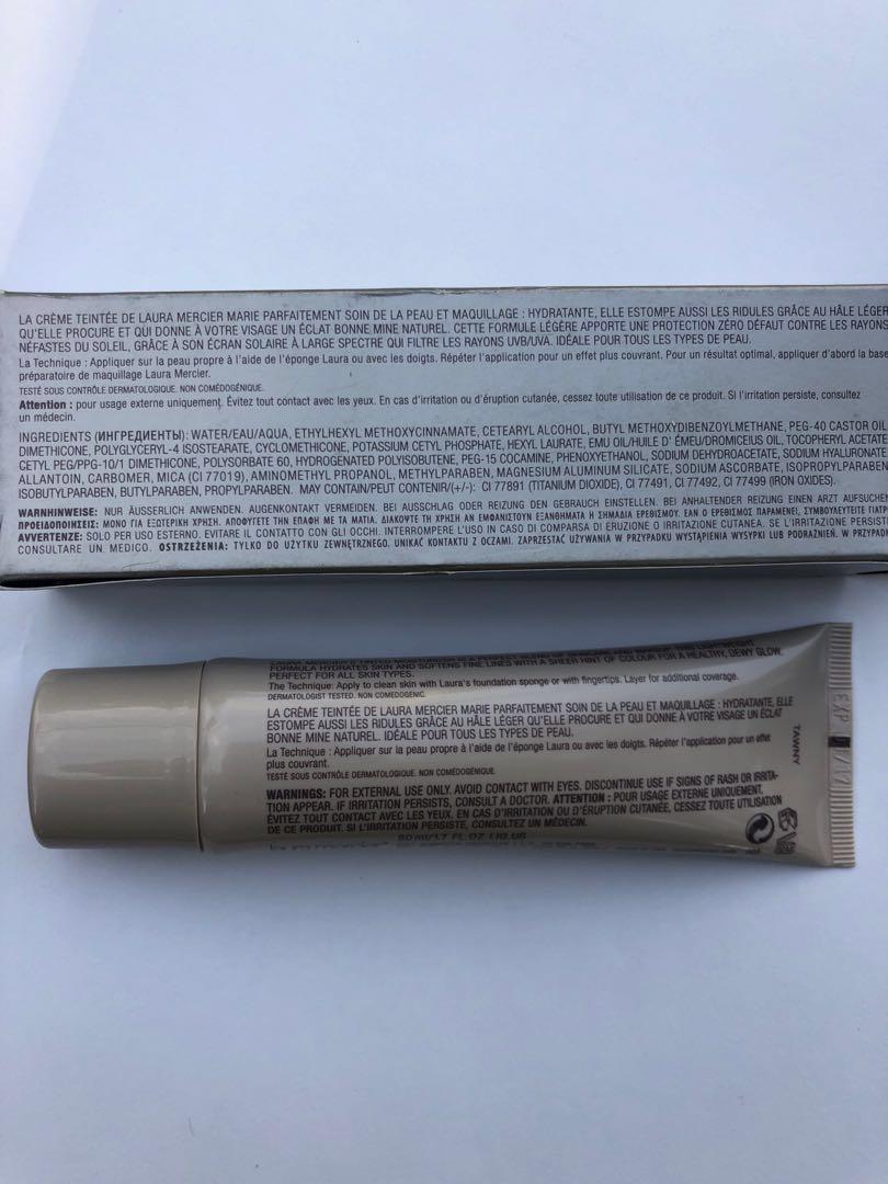 Tinted moisturizer spf 20 uvb/uva Tawny