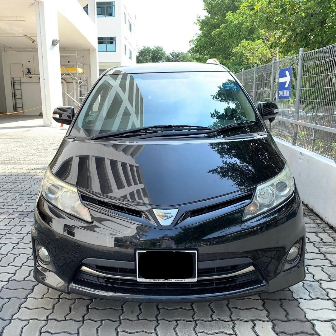 Toyota Estima For Personal Use Car Rental/PHV Grab Go jek cheapest to rent
