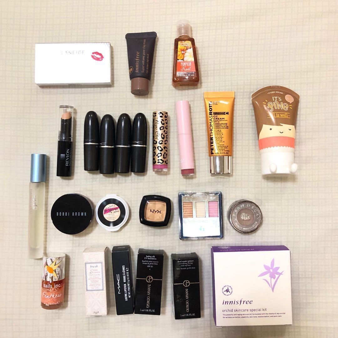 Travel size kosmetik