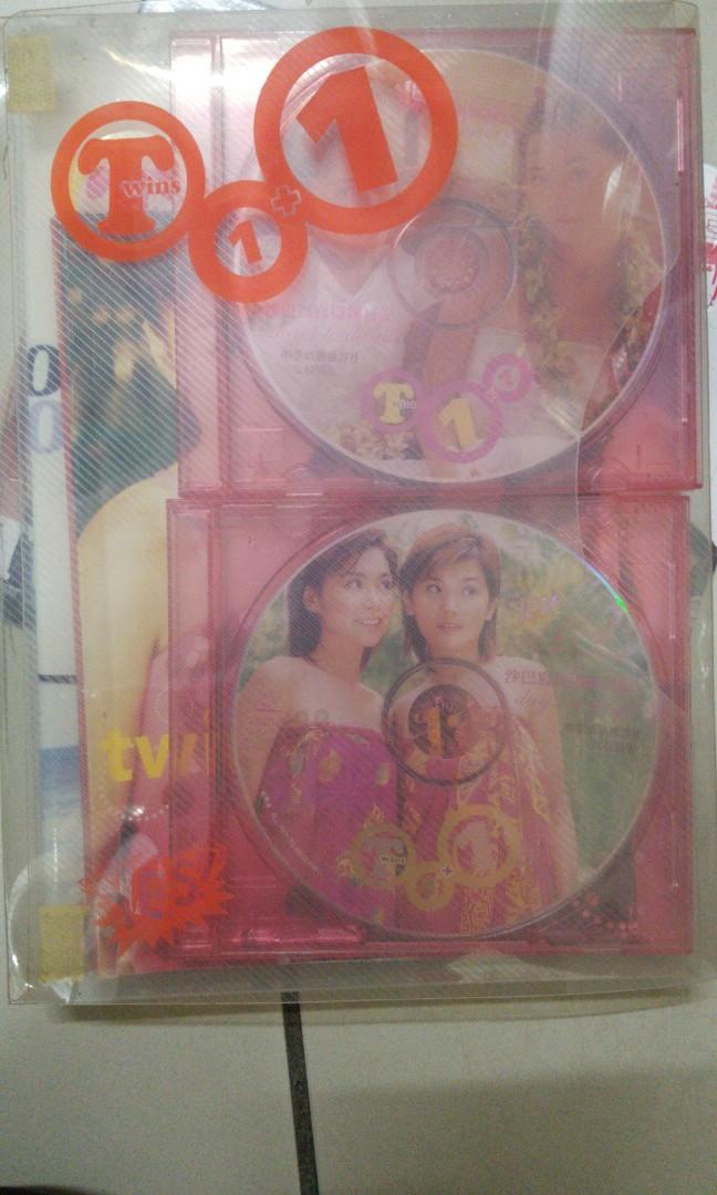 Twins 寫真集 珍藏 純顏寫真 1+1 plus .  love HK