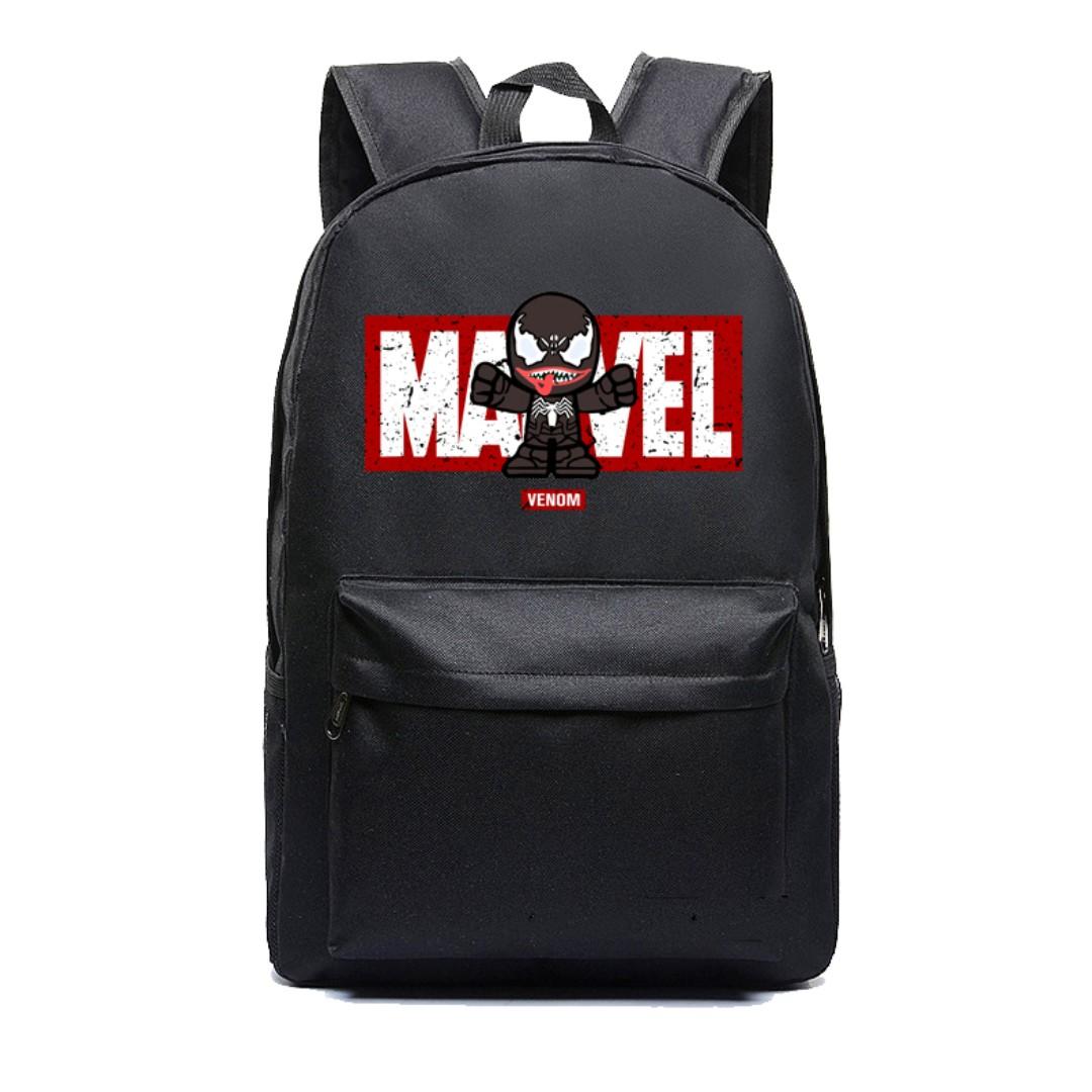 0d8a13416a70a7 Venom Backpack Marvel Bag School, Luxury, Bags & Wallets, Backpacks ...