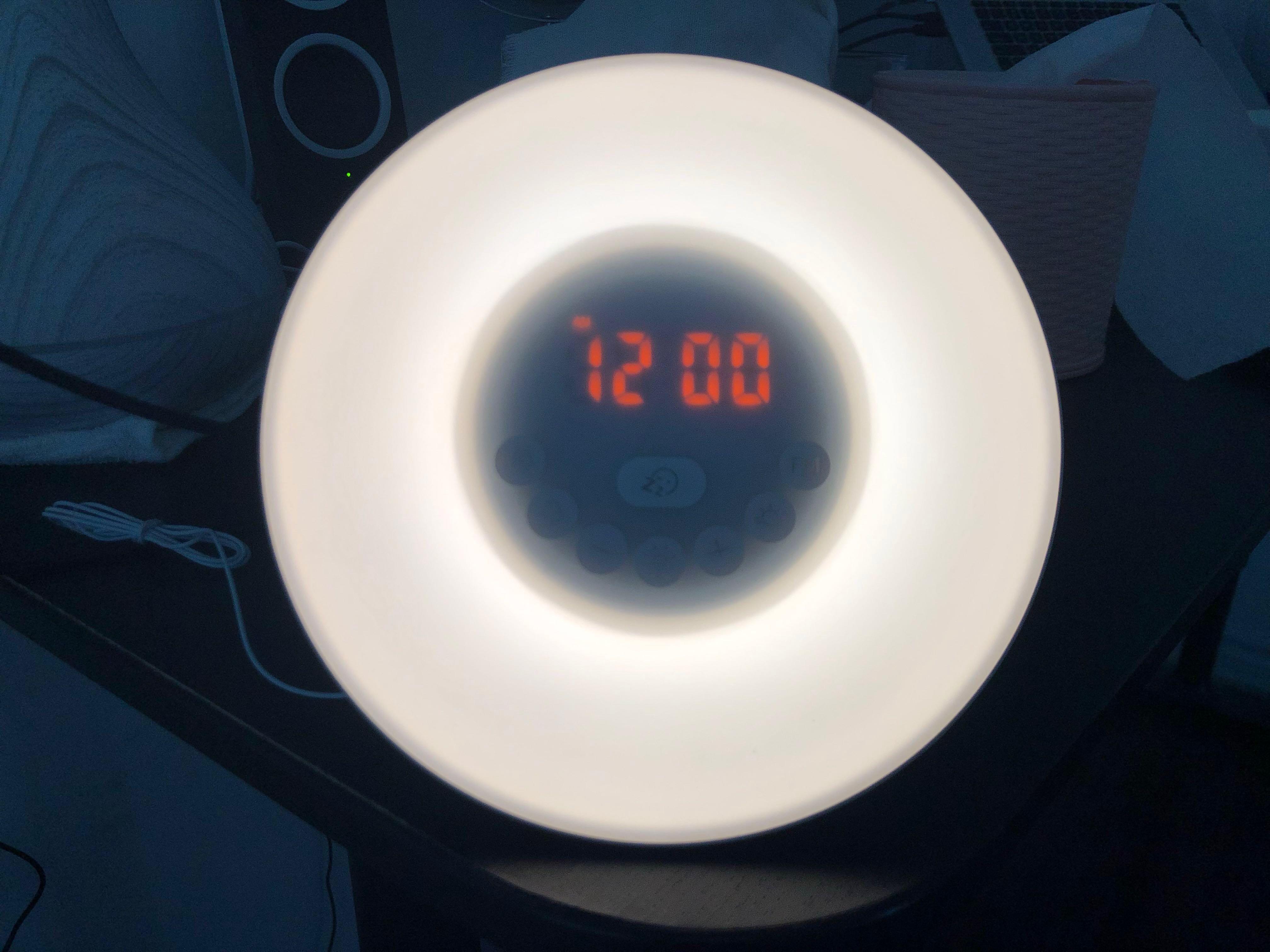 Wake up light alarm clock fm radio - brand new
