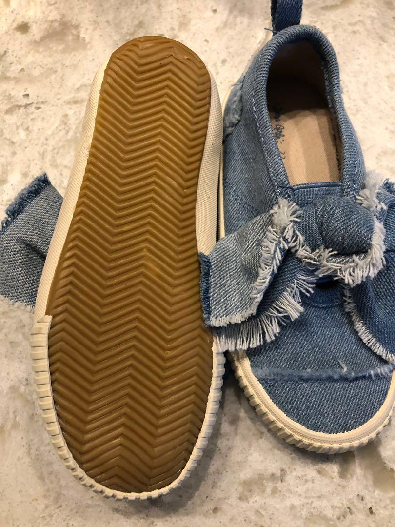 Zara Girl Denim Shoes - Size 7