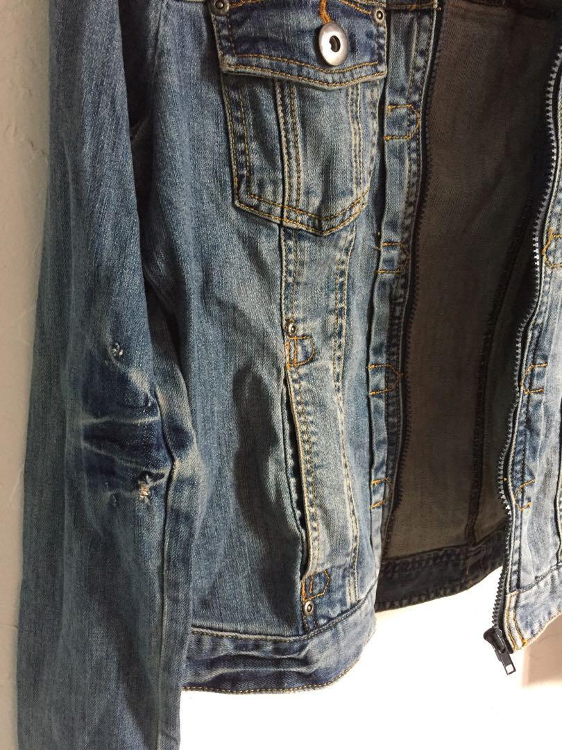 Zara women's denim jacket 女裝牛仔外套