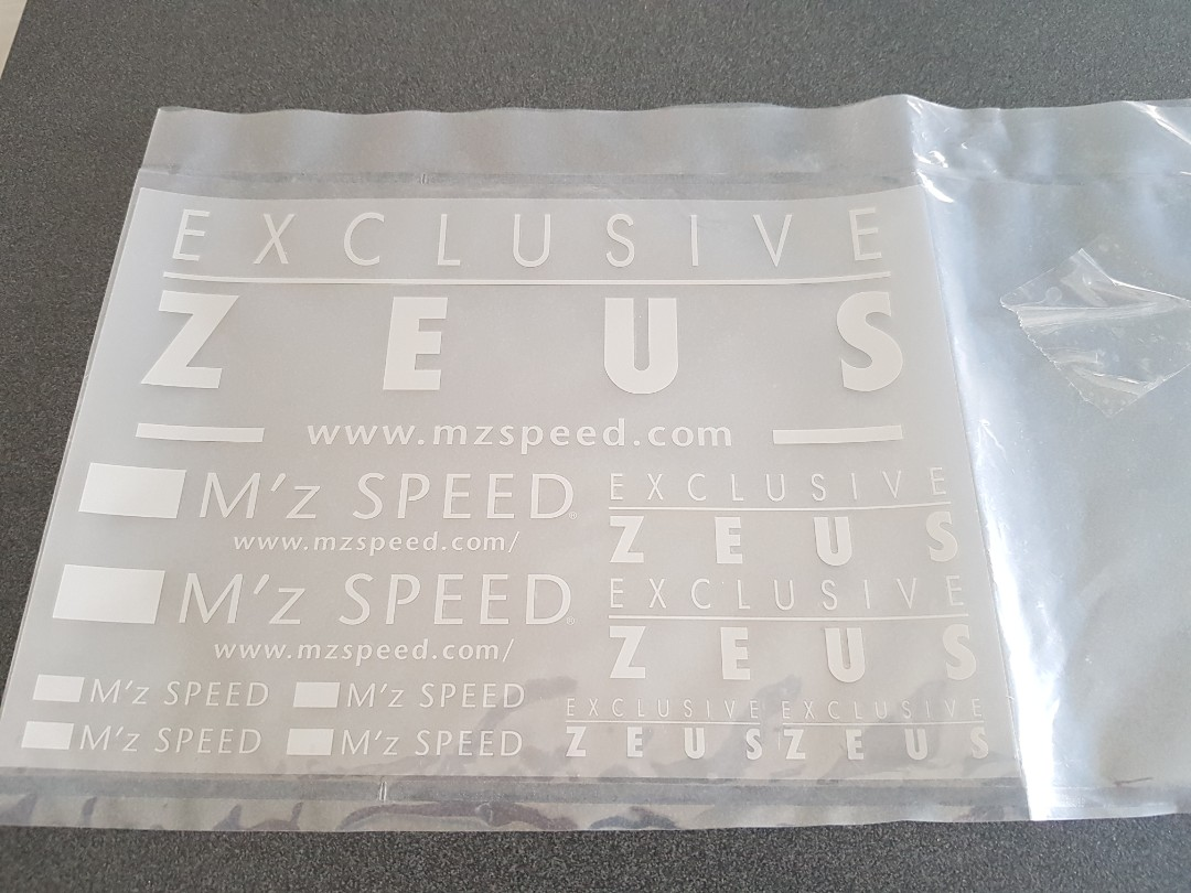 Zeus sticker, Car Accessories, Accessories on Carousell