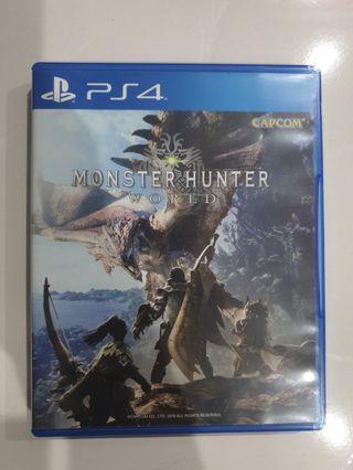 Monster Hunter PS4 Games RESERVED TILL 19/5/19