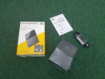 WD External Hard Disk 2TB