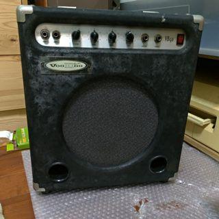 早期voodoo 韓國製 Korea bass音箱 amp. 40w 10inch