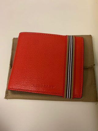 Burberry men bi-fold wallet