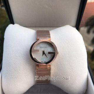 Gucci Interlocking Rose Gold Ladies Watch