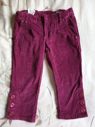 United colors of benetton 3/4 children pants