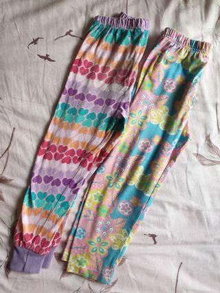 Pants for girls (2 pairs)