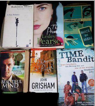 6 English books bundle. Teenagers,  adults