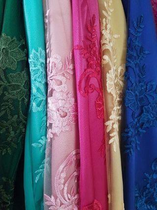 Baju Kurung Soft Lace