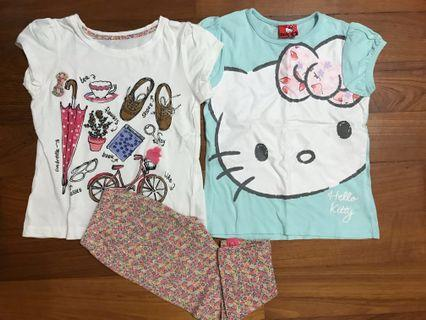 Mothercare Hello Kitty Girl Set 4-5yo
