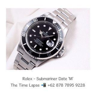 """Rolex - Submariner Date """"M"""""""