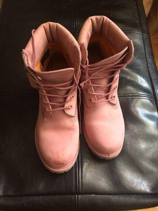 Timberland pink size 9 women