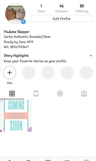 Jastip Authentic Branded Item (Ready by June 2019)