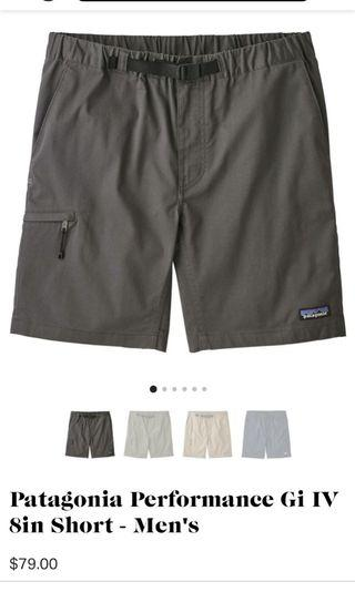 PatagoniaPerformance Gi IV 8in Short 褲 North Face