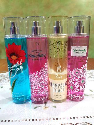 Bath and Body Works Fine Fragrance Mists Restocked!
