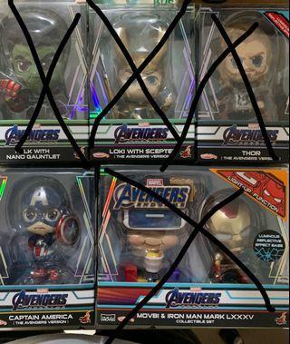 Marvel Avengers Endgame Hottoys Cosbaby Captain America