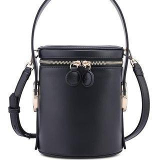 Jessica Jung Poppy Bucket Bag in Black
